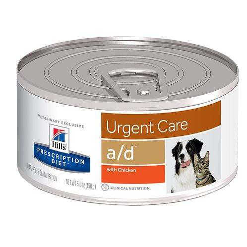 Hill'sPrescription Diet a/d, Recuperación, Alimento para Perro o Gato, 156gr