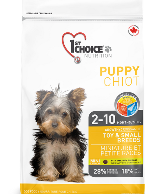 1ST CHOICE TOY & SMALL BREEDS PUPPY