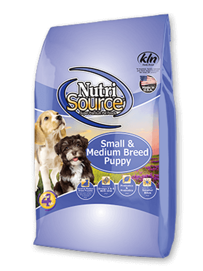 NUTRI SOURCE PUPPY SMALL & MEDIUM BREED