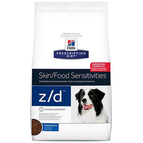 Hill's Prescription Diet z/d, Piel / Sensibilidades alimenticias,  3.63kg