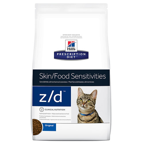 Hill's Prescription Diet z/d, Piel / Sensibilidades alimenticias, 1.81kg