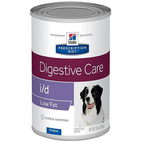 Hill's Prescription Diet i/d, Salud Gastrointestinal Low Fat, 350gr