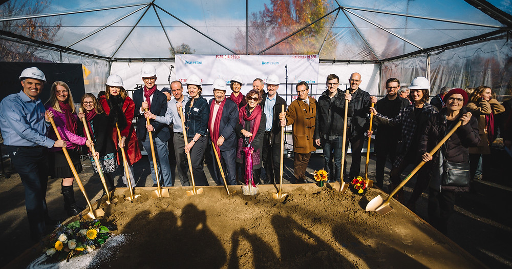 Patricia Reser Center for the Arts groundbreaking