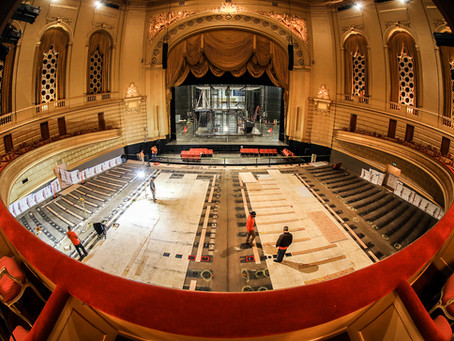 San Francisco War Memorial Opera House Reseating Underway