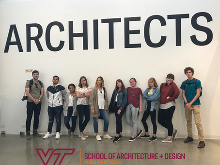 VA Tech San Francisco Summer Studio '19