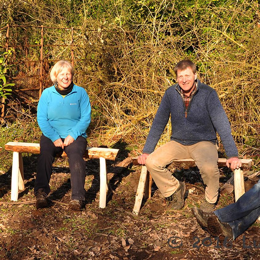 Make your own garden bench