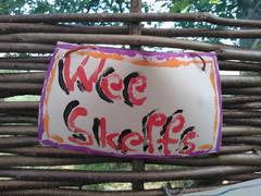 Wee Skelfs sign