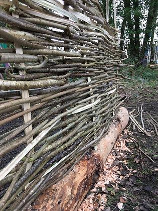 Weaving rods