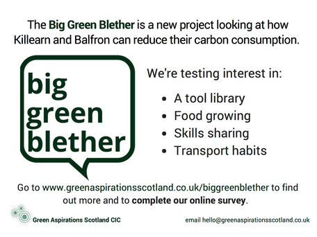 Join the Big Green Blether