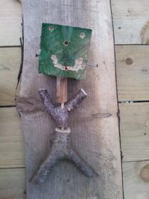 Wood puppet