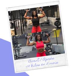 SIDJE YB : Prof Roller , Fitness & Musculation sur Bordeaux / Ma transformation / Mon avant - Après