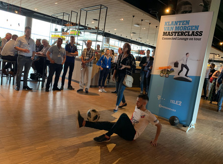 Tele2 Connected Lounge on Tour