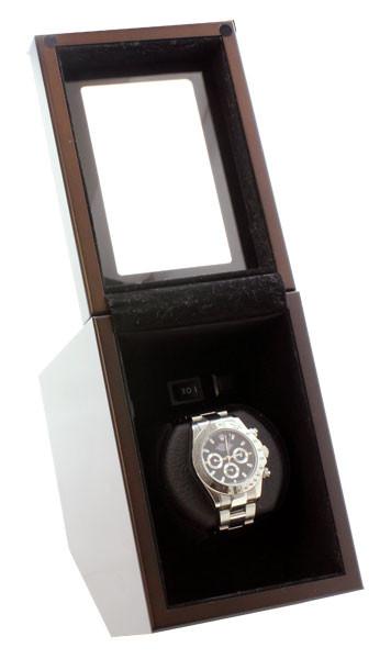 Heiden single watch winder. Heiden Prestige Automatic Single Watch Winder