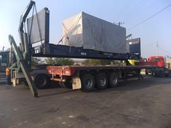HAMMER - Remolque cargador lateral de contenedores de 20 y 40 pies