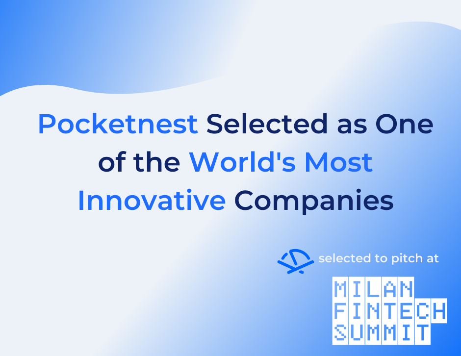 Pocketnest selected as one of the world's most innovative companies