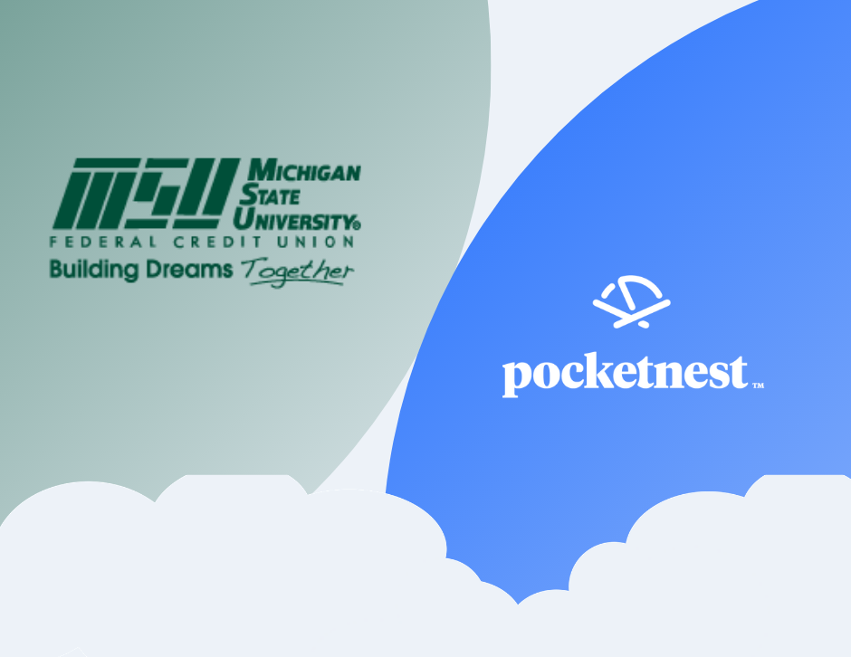 MSU Federal Credit Union and Pocketnest logos