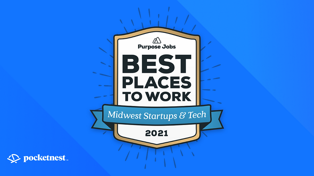 Purpose.Jobs Best Places to Work 2021 badge