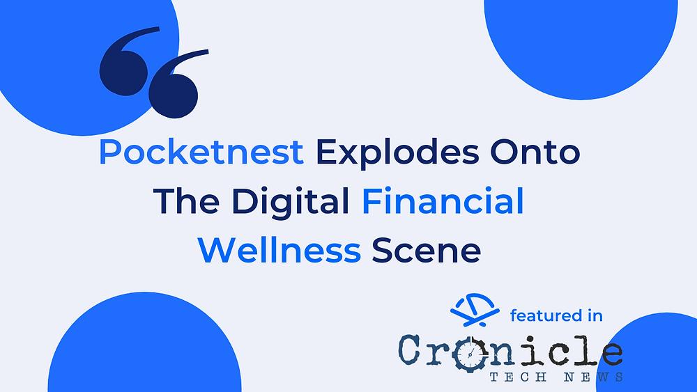 Pocketnest and Cronicle Tech News logos