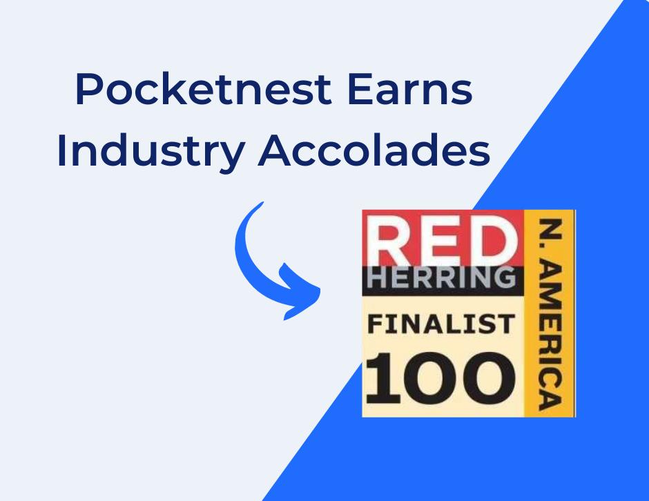 Pocketnest earns industry accolades