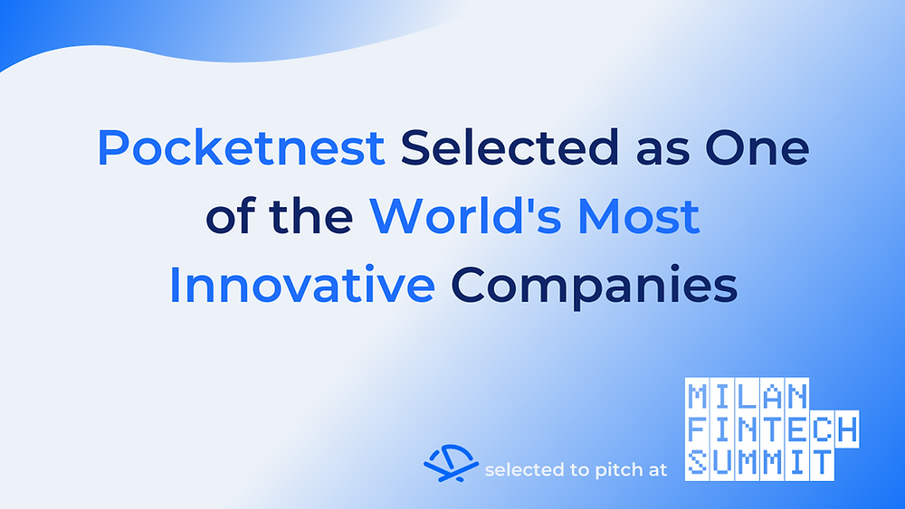 Milan Fintech Summit and Pocketnest logos