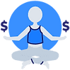 Finance Yoga Master Icon