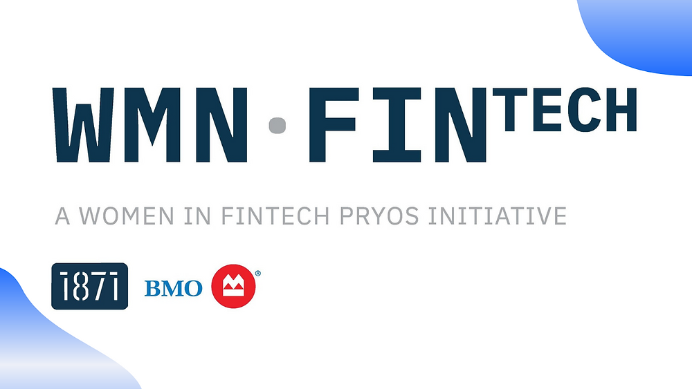 BMO Harris Bank and 1871 Women in Fintech logo