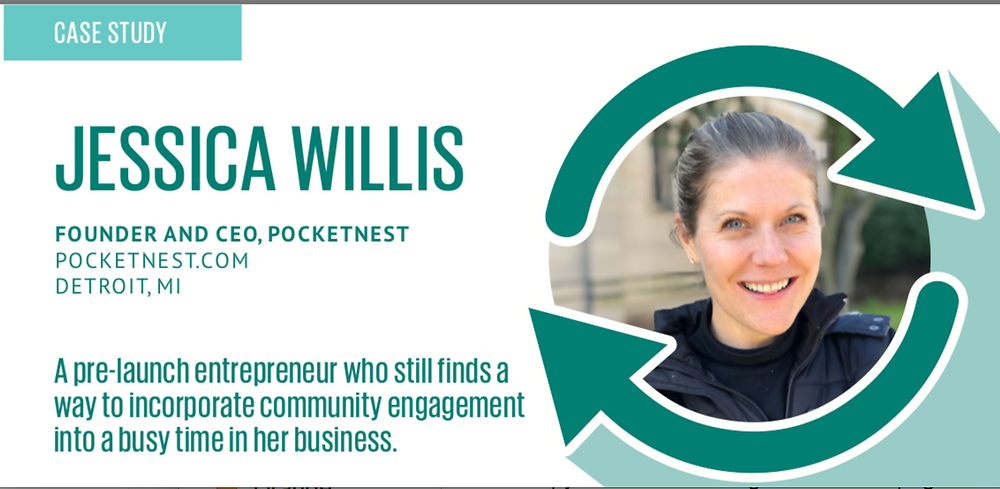 Case study cover—Jessica Willis, CEO and founder of Pocketnest