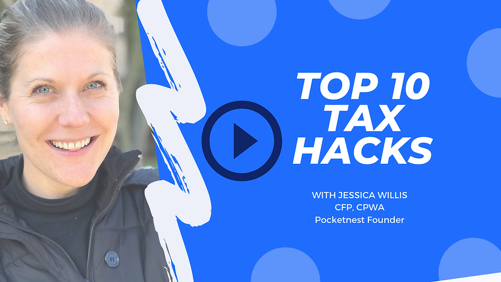 Top 10 Tax Hacks with Jessica Willis video cover