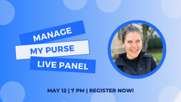 """Manage My Purse"" Panel Features Pocketnest"