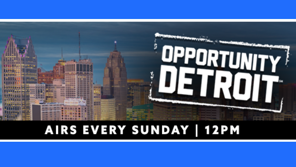 Opportunity Detroit Sunday 12PM radio show logo