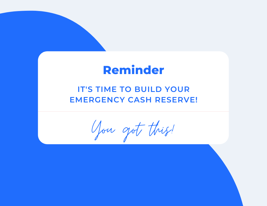 Phone alert: it's time to build your emergency cash reserve