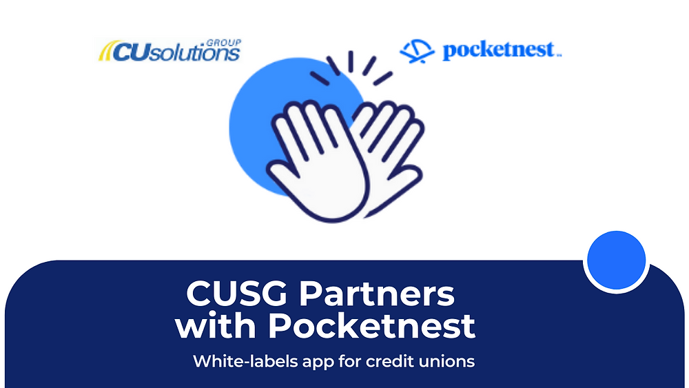 CUSG Solutions Group and Pocketnest logos