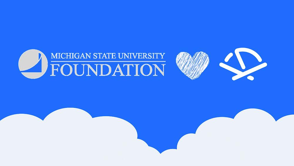 Michigan State University Foundation and Pocketnest logos