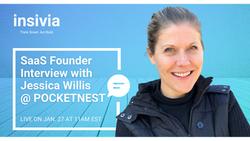Insivia SaaS Founder Series Features Pocketnest