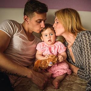 Валя и Егор + Ева. Семейная LoveStory.
