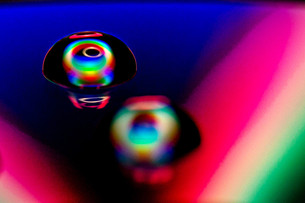 Ramona_Wassertropfen auf einer CD 1