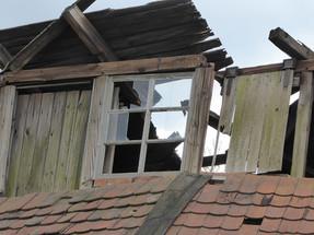 Eva_Fenster an der Ruine Ziegeli