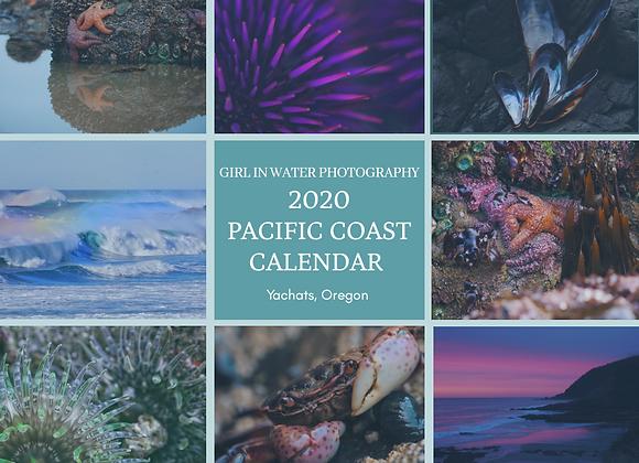 2020 Pacific Coast Calendar