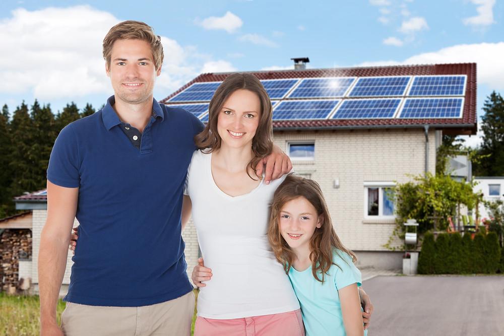 Paneles solares para casas en México