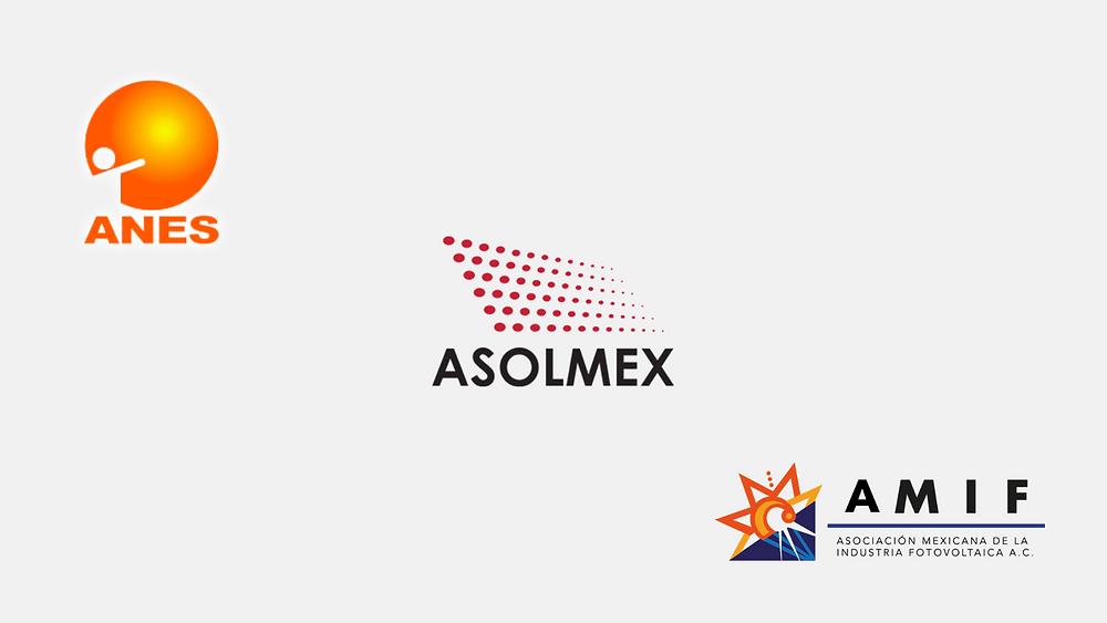 Asociaciones Mexicanas de energía solar