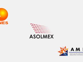 Asociaciones de energía solar fotovoltaica en México