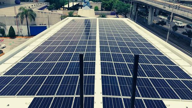 Instalación de paneles solares para G500 - Enersing