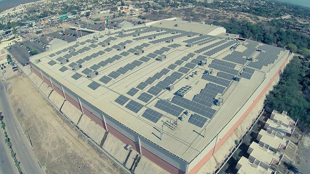 Instalación de paneles solares para Soriana 2 - Enersing