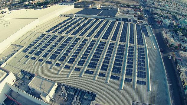 Instalación de paneles solares para Soriana 3 - Enersing