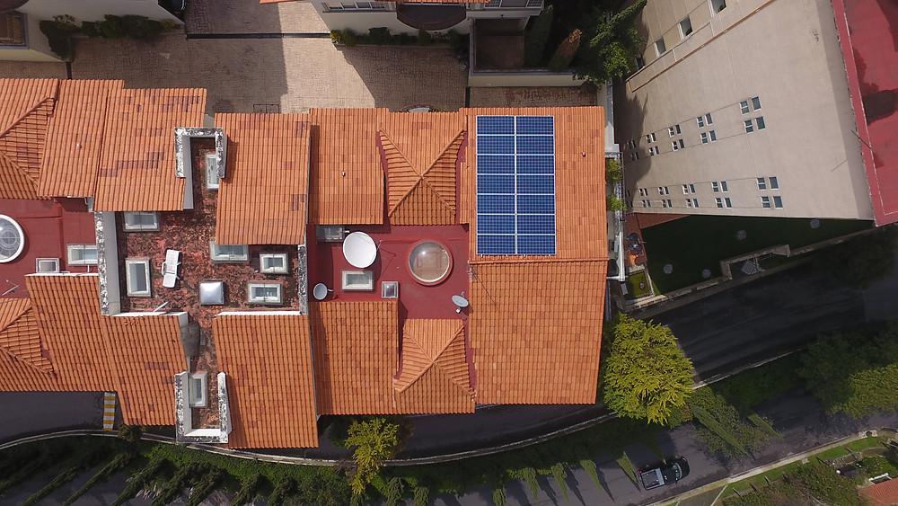 Instalación de paneles solares en casas - México