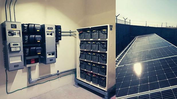 Instalacion de paneles solares para ICA FLUOR - Enersing