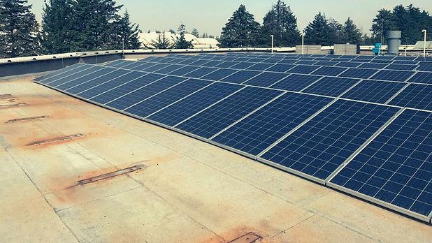 Instalacion de paneles solares para Bayer de México - Enersing