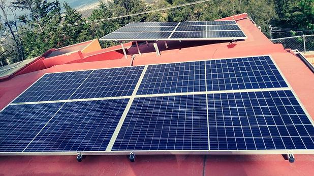 Instalacion de paneles solares para privado 1 - Enersing