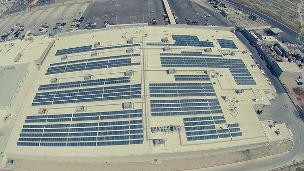 Instalación de paneles solares para City Club - Enersing