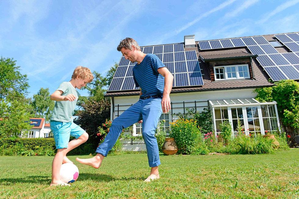 Informes de paneles solares - Enersing